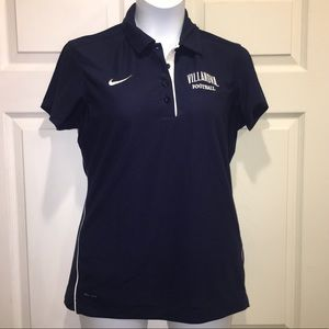 Villanova Wildcats Football Dri-Fit Polo Shirt